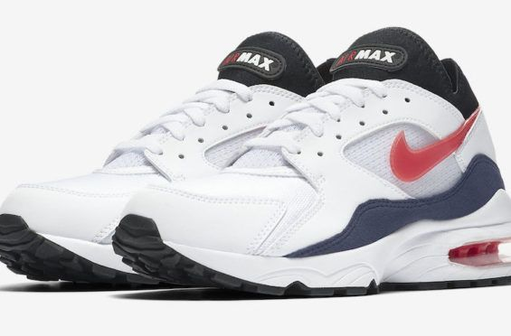 Official Images Nike Air Max 93 Og Flame Red Sneakers Botas