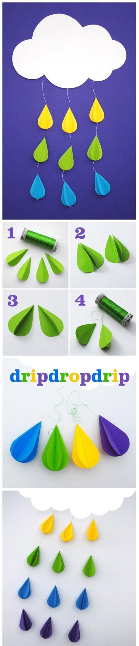 rain drop craft