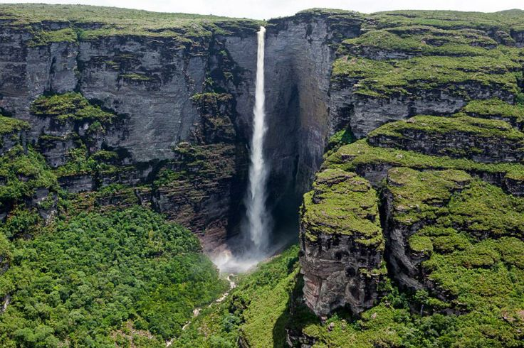 Fumacinha Waterfall, Brazil