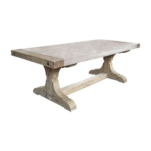 Pirate Waxed Atlantic 30 X 62 Inch Table