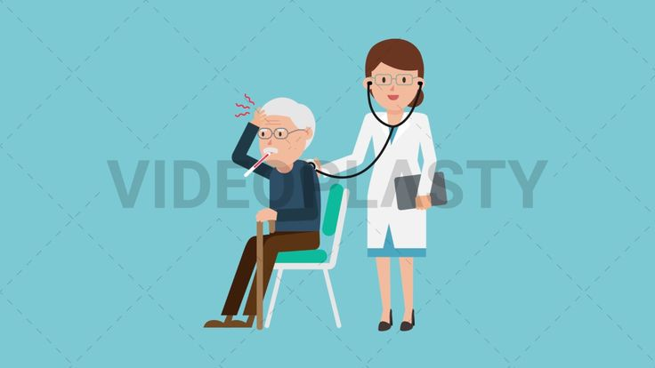 Download: http://ift.tt/2sZBvKs  A female doctor in a white coat using a stethoscope to consult an old man in brown pants and blue sweater sitting on a chair holding a thermometer in his mouth.  Two version are included: normal (with a start animation) and loopable. The normal version can be extended with the loopable version  Clip Length:10 seconds Loopable: Yes Alpha Channel: Yes Resolution:FullHD Format: Quicktime MOV  For more royalty free video assets visit: https://videoplasty.com