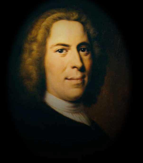 Count Nicholas Ludwig von Zinzendorf - Champion of the Moravians Painting by  Balthasar Denner