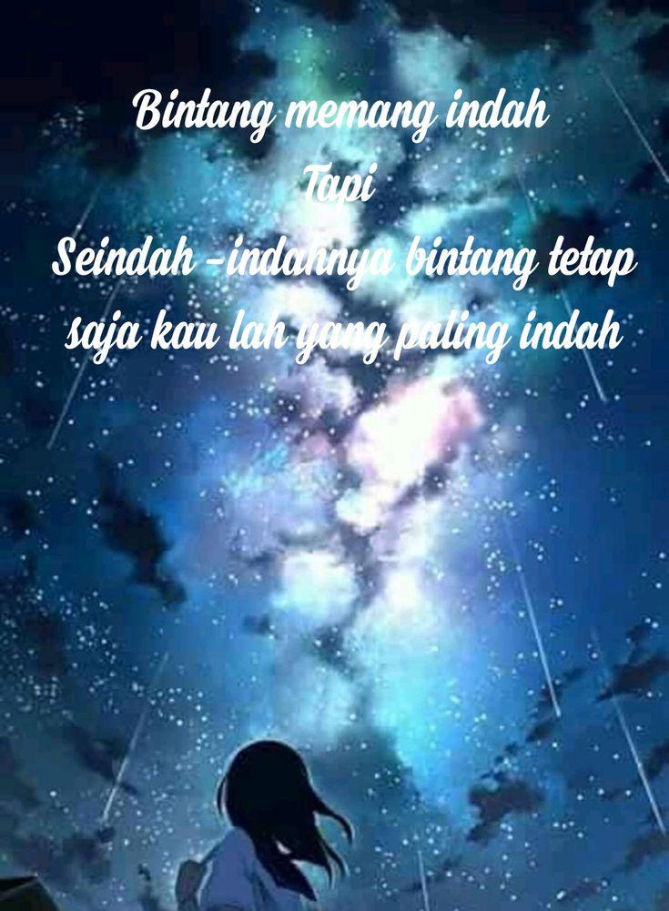 Pin oleh Via Nasution di kata kata animers Bintang