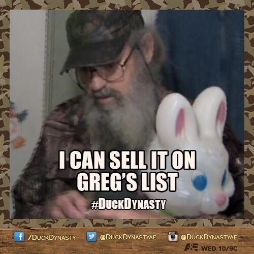 Uncle Si's Greg's List