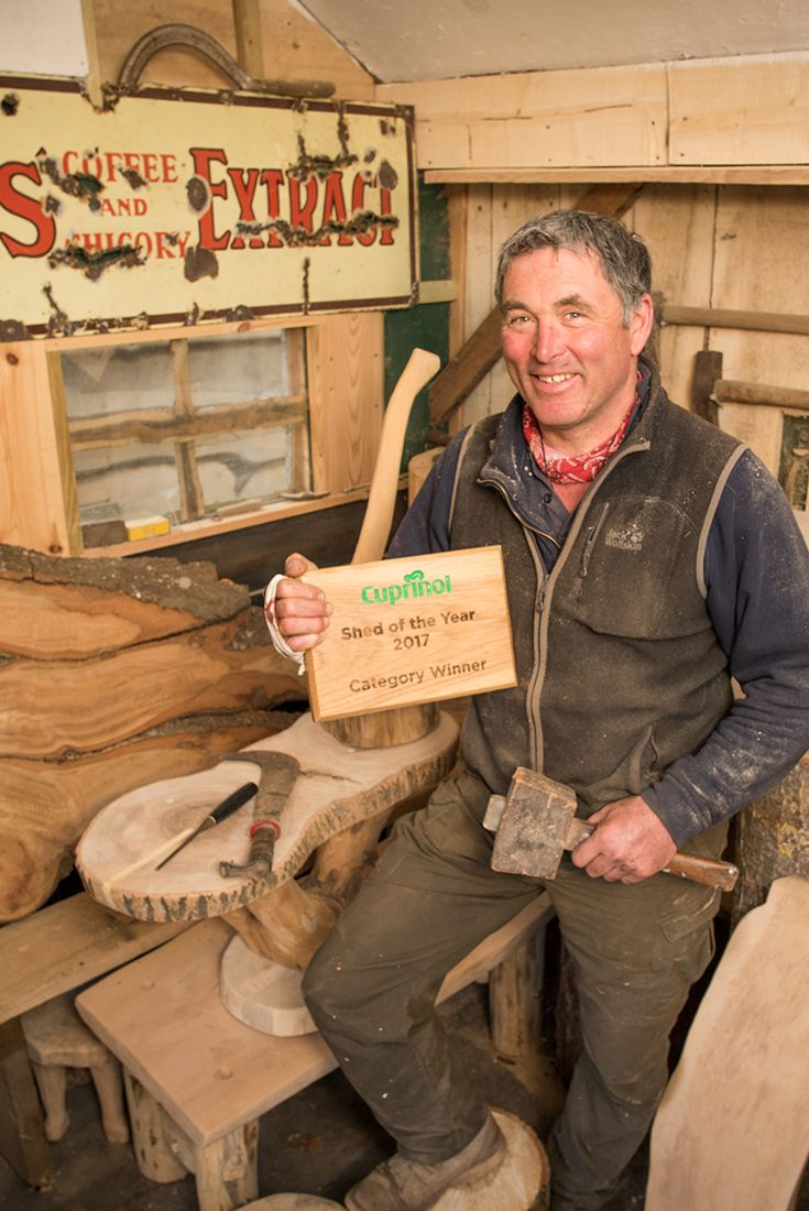 Doog's Shack is our Budget category winner for Shed of the Year 2017. It's a temple to woodwork, so we hope the trophy will be right at home!