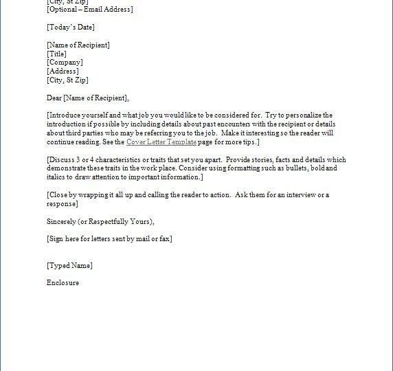 68 Free Download Business Letter Templates Business Letter Template Business Letter Format Cover Letter Template