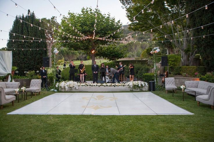 Backup Plans For Your Outdoor Wedding: 1000+ Ideas About Outdoor Dance Floors On Pinterest