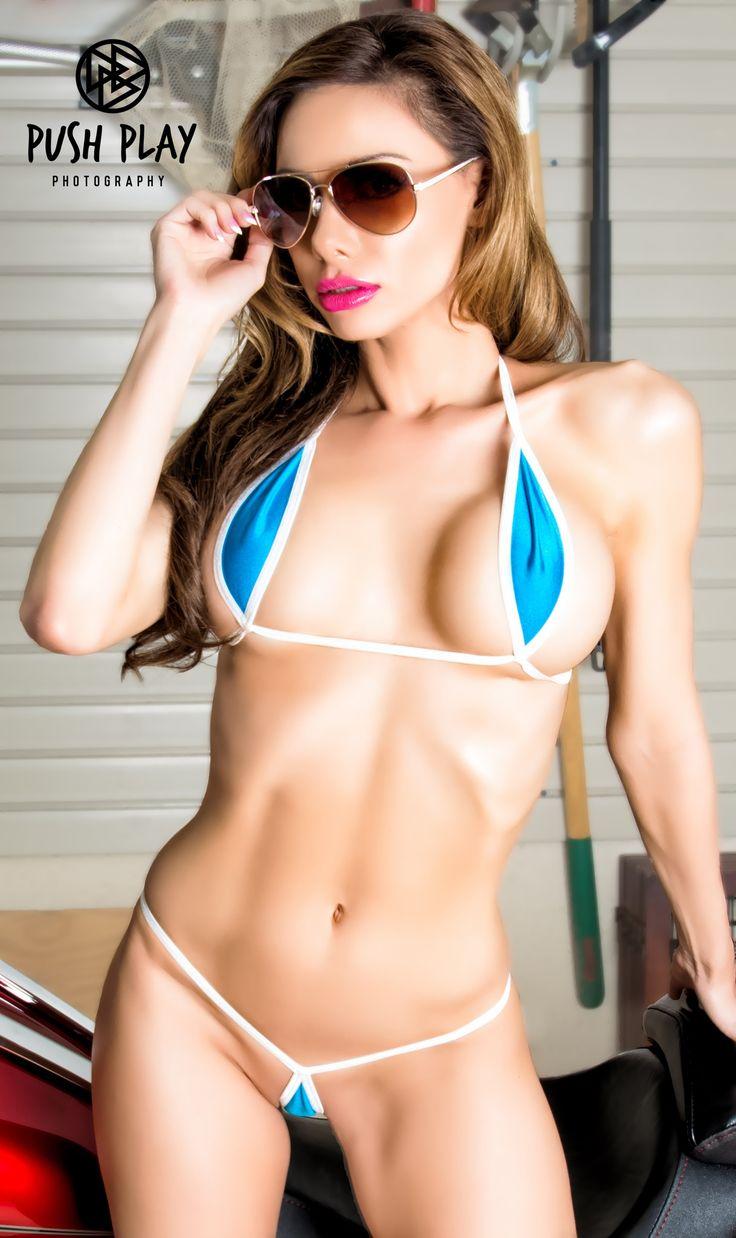 String swimwear bikini minimal
