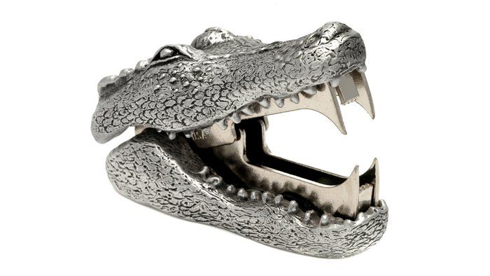 Alligator Staple Remover from ahalife.   Previous statement was incorrect. I cannot live without THIS. <3<3<3