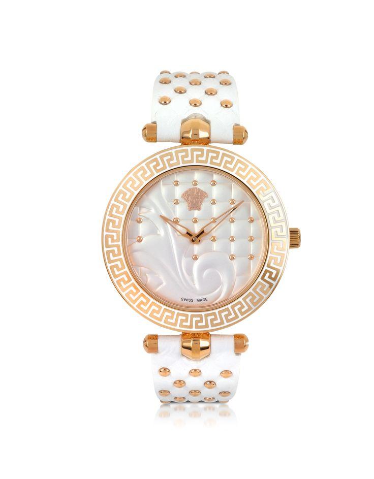 Versace Vanitas White Women's Watch