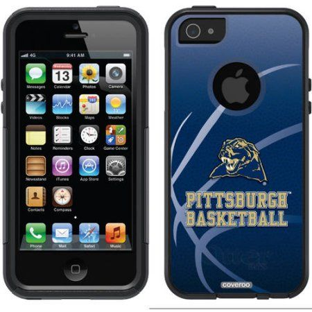 University of Pittsburgh Basketball Design on OtterBox Commuter Series Case for Apple iPhone 5/5s