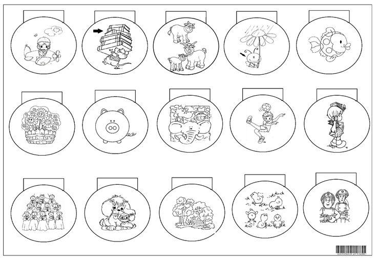 Os alunos devem escrever embaixo de cada círculo o nome da figura e seu respectivo coletivo.     Veja o caderno dos alunos.        ...