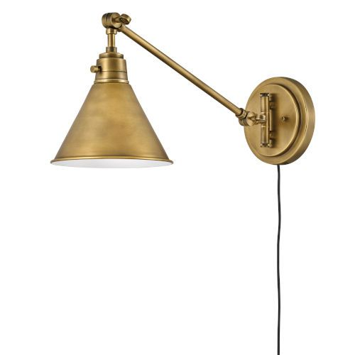 Mid Century Modern Swing Arm Lamps | Hard Wire & Plug In ...