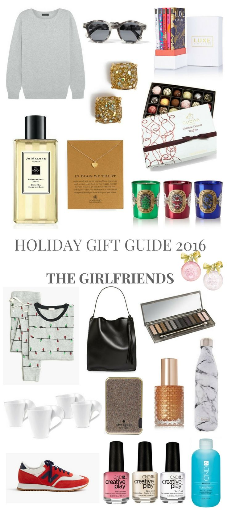 HOLIDAY GIFT GUIDE 2016 THE GIRLFRIENDS // Shoegal Out In The World