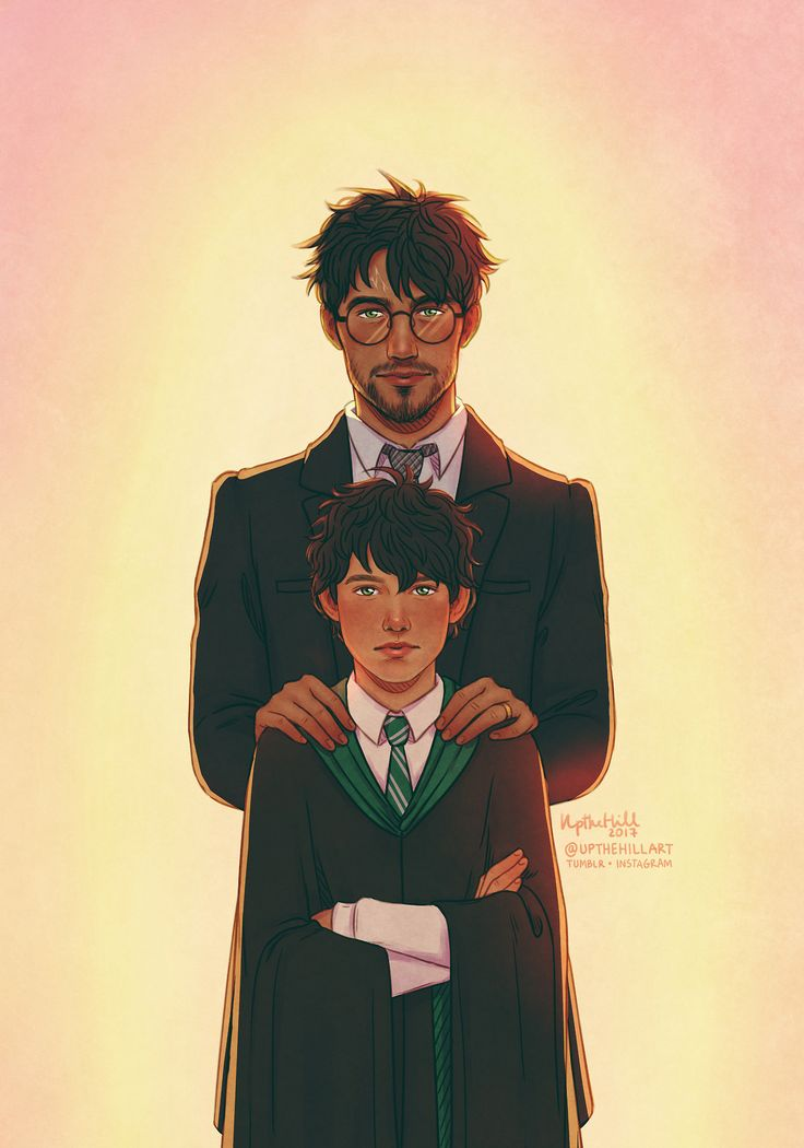 HARRY: I'm going to try with everything I've got—to be a good dad for you. ALBUS: And I'll try and be a better son. - Harry Potter and the Cursed Child, Act Four, Scene Fifteen 19 years later has finally come :) by UptheHill