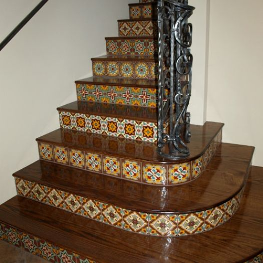 Carved Wood Stair Risers Stair Ideas Stamped Leather: 91 Best Images About Stair Risers Decorating Ideas On