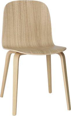 Chaise Visu / Pieds bois Chêne massif - Muuto - Décoration et mobilier design avec Made in Design