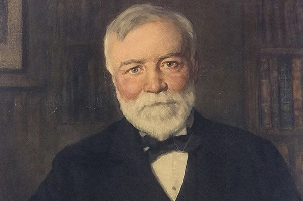 """""""I resolved to stop accumulating and begin the infinitely more serious and difficult task of wise distribution.""""  ~ Andrew Carnegie, b. 25 November 1835"""
