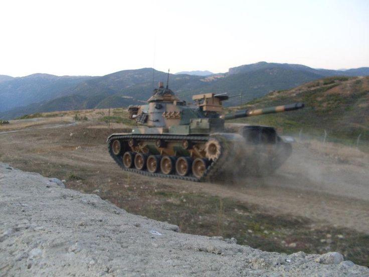Turkish Land Forces M60A3 TTS modification 2010.