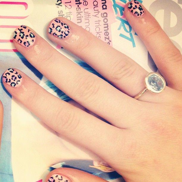 Teen Vogue Pastel Leopard Print  #pink #purple #mint #leopard #pastel