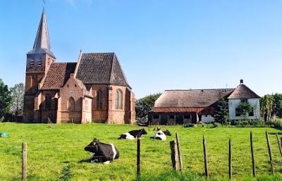Kerkje van Persingen, Ooij polder