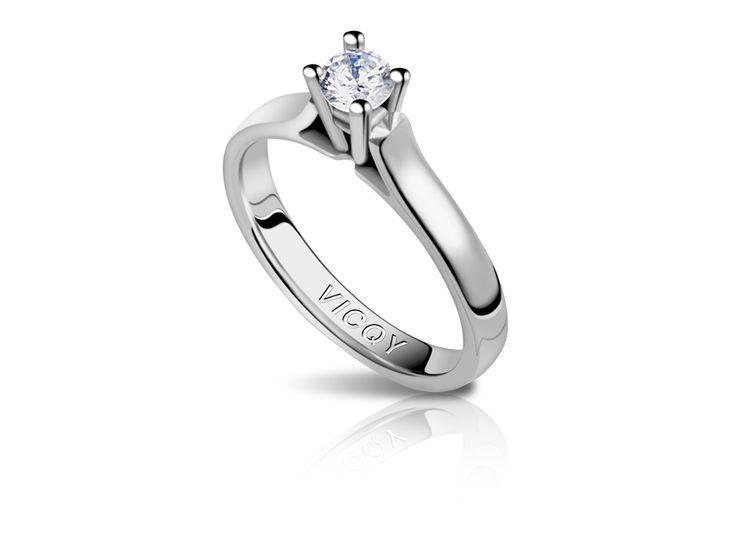 YL Diamond Wedding Ring 9ct White Gold 0.5ct Moissanite Engagement Wedding Ring for Bride Women jgOdmGRSTw