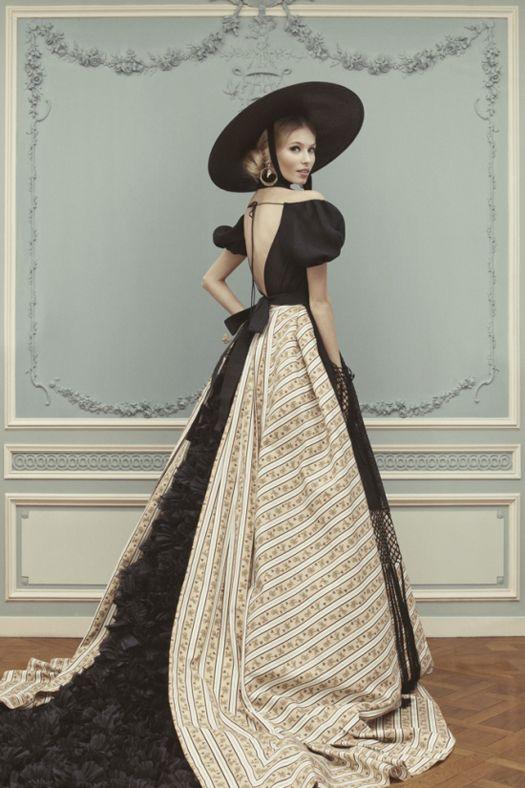 Ulyana Sergeenko Couture: весна-лето 2013