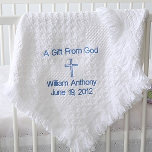 25 unique baby christening gifts ideas on pinterest personalized baby christening blanket embroidered cross 9803 baptism giftspersonalised negle Image collections