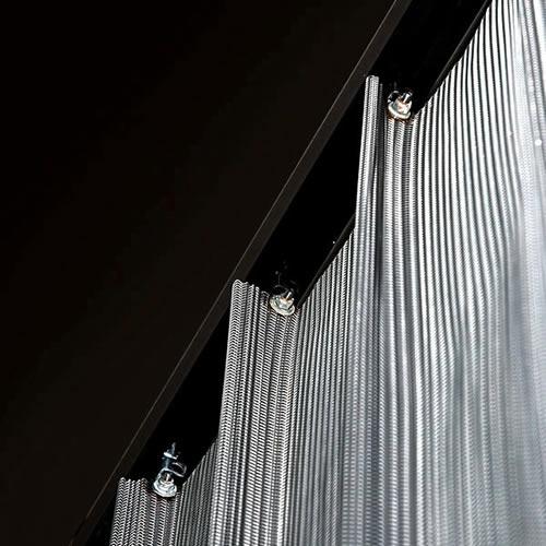 Metal Mesh Curtain Metal Mesh Curtains Pinterest