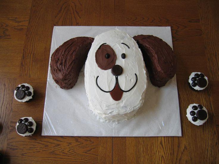 Puppy Dog Cake Designs