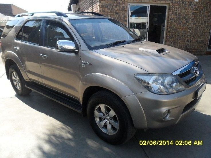 2008 Toyota Fortuner SUV 3.0 D-4D Manual 4x2