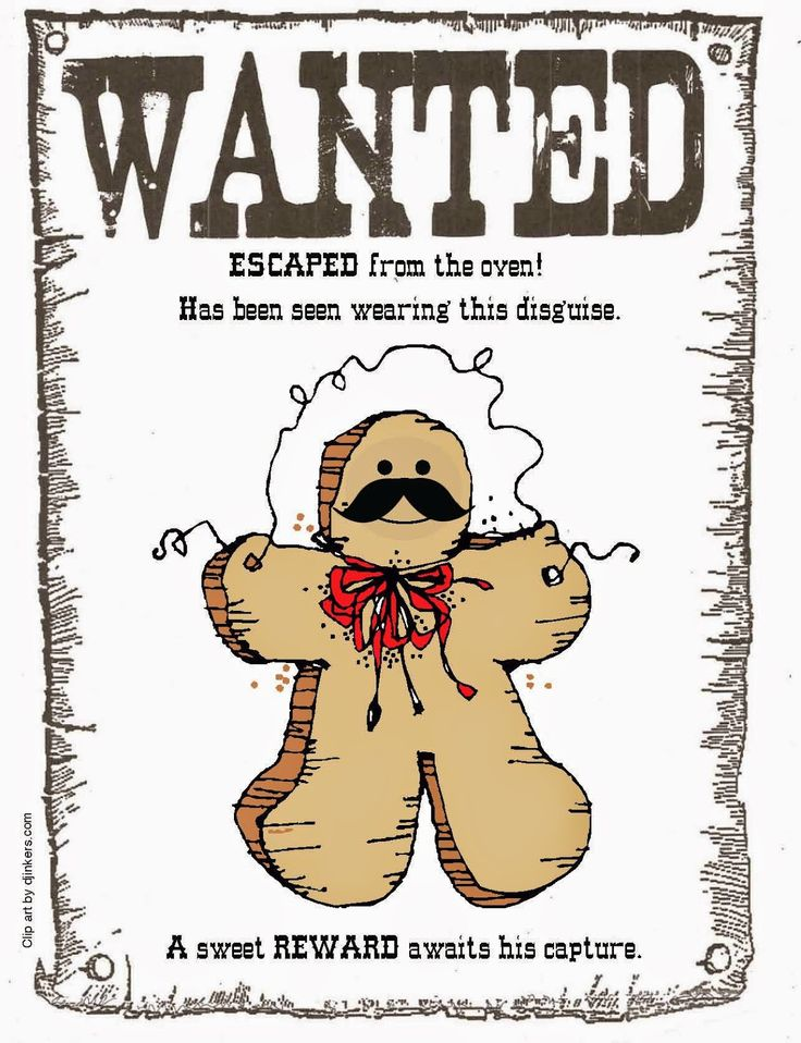 Classroom Freebies: Gingerbread On The Loose Class Book Ed-venture
