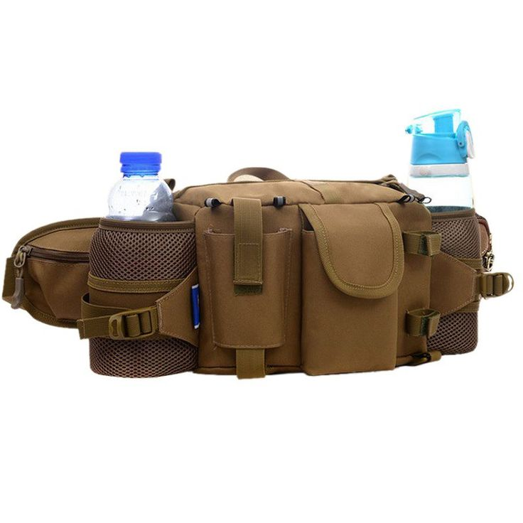 Multifunctional Tactical Camouflage Waist Packs Waterproof Nylon Sports Belt Bags //Price: $39.99 & FREE Shipping //     #tacticalgear #survivalgear #tactical #survival #edc #everydaycarry #tacticool #hunting #camping #outdoors #pocketdump #knives #knifeporn  #knife #army #gear #freedom #knifecommunity #airsoft