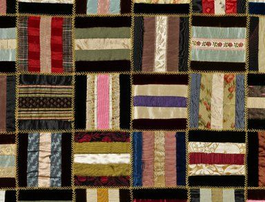 Brooklyn Museum: Browse Objects: Bars Quilt: