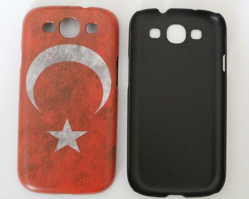 Sie haben was zu verkaufen? Selbst verkaufen  Samsung Galaxy S3 Handy Hülle Hardcase Türkei türkische Flagge Fahne Retro Cover
