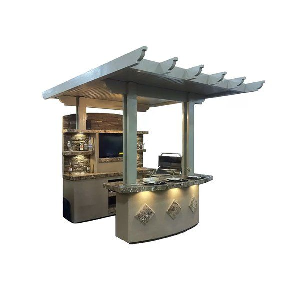 St Croix Bbq 72 Quot 4 Burner Natural Gas Prefab Kitchen