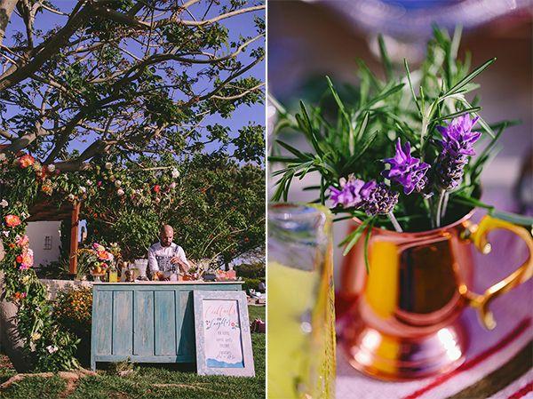 Με χαρούμενα καλοκαιρινά χρώματα και τα πιο όμορφα λουλούδια που μπορεί κανείς να βρει, η σημερινή φωτογράφιση στο εντυπωσιακό Aphrodite Hills Resort είναι