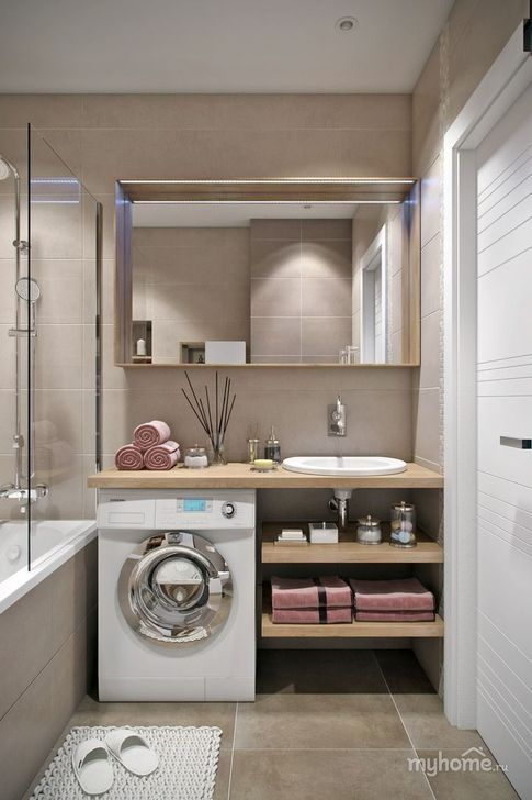 – A small bathroom is possibly one of the hardest …