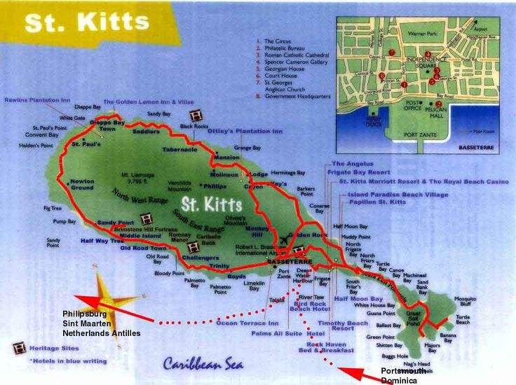 Basseterre St. Kitts Beaches | , North America, Caribbean, Saint Kitts, St. Kitts, Basseterre ...