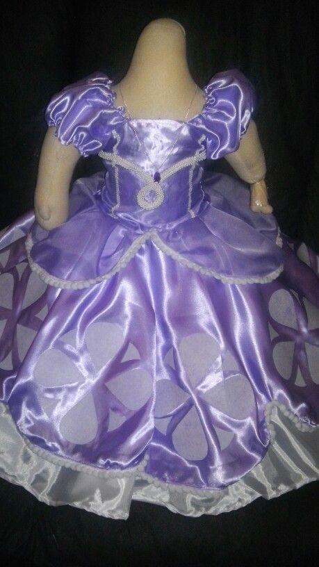 Vestido de la princesa Sofia   vestido de la princesa ...