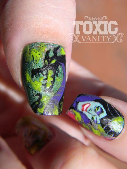 Toxic Vanity: My Favourite Diney Classics 13# La Bella Durmiente: Sleep Beautiful, Toxic Vanities, Nails Art, Classic 13, Beautiful Nails, Diney Classic, Disney Nails, Favourit Diney, Beautiful Durmient
