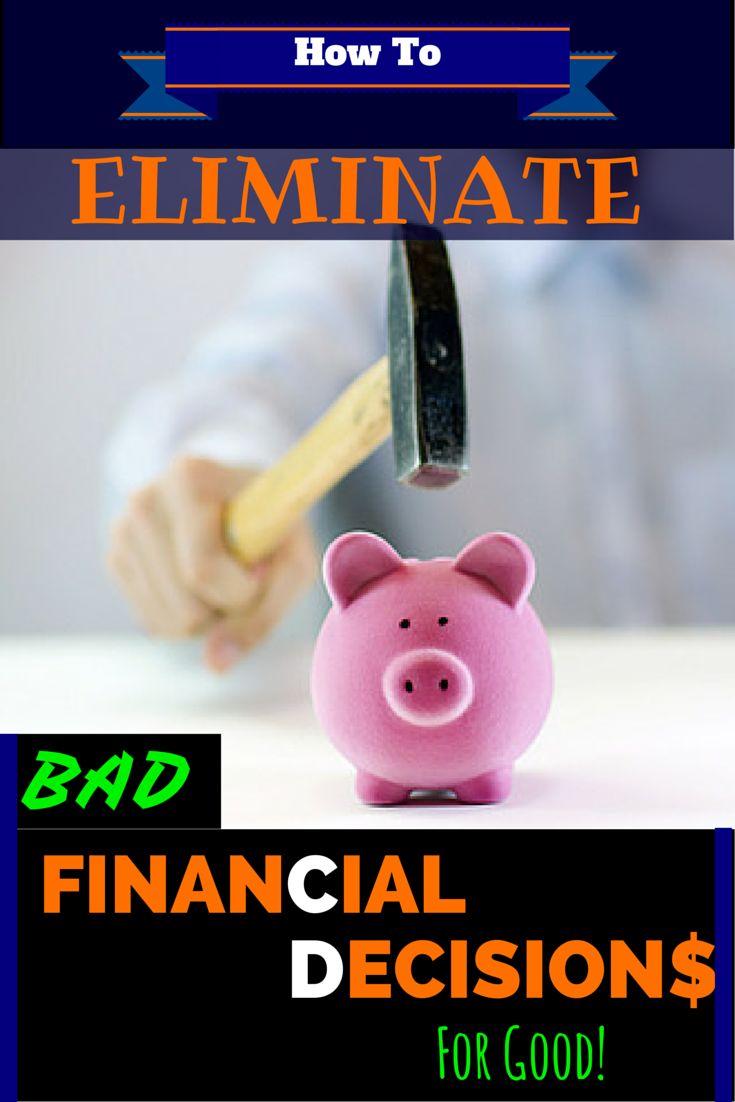 make bad financial decisions - 735×1102
