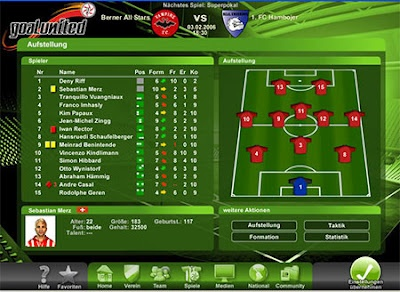 For those of you who like to play football game probably this game is very suitable for you to spend your spare time, the GoalUnited.    GoalUnited is a free online football manager game that has been completed with a number of interesting features. This game also come with great graphic detail and tutorial for beginners so you can understand on how to play this game.