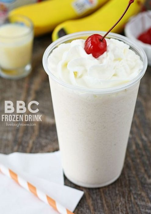 BBC Frozen Drink.....my hubby and I had these on our honeymoon and they were so good!!!