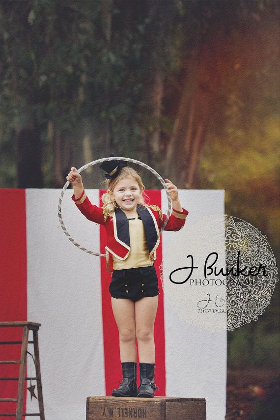 Lion Tamer Costume Big Top Circus Pageants by AKenzieMackaySoiree