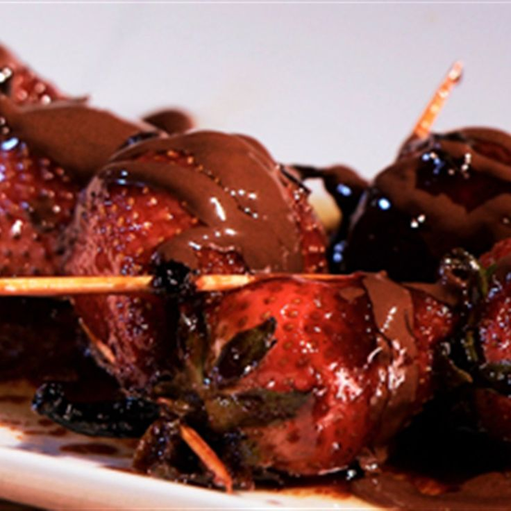 Try this Chocolate Fondue with Strawberries Flambe recipe by Chef Miguel Maestre. This recipe is from the show Miguel's Tropical Kitchen.