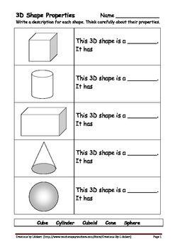 17 best images about teaching math shapes on pinterest 3d shapes shape and 3d shape properties. Black Bedroom Furniture Sets. Home Design Ideas