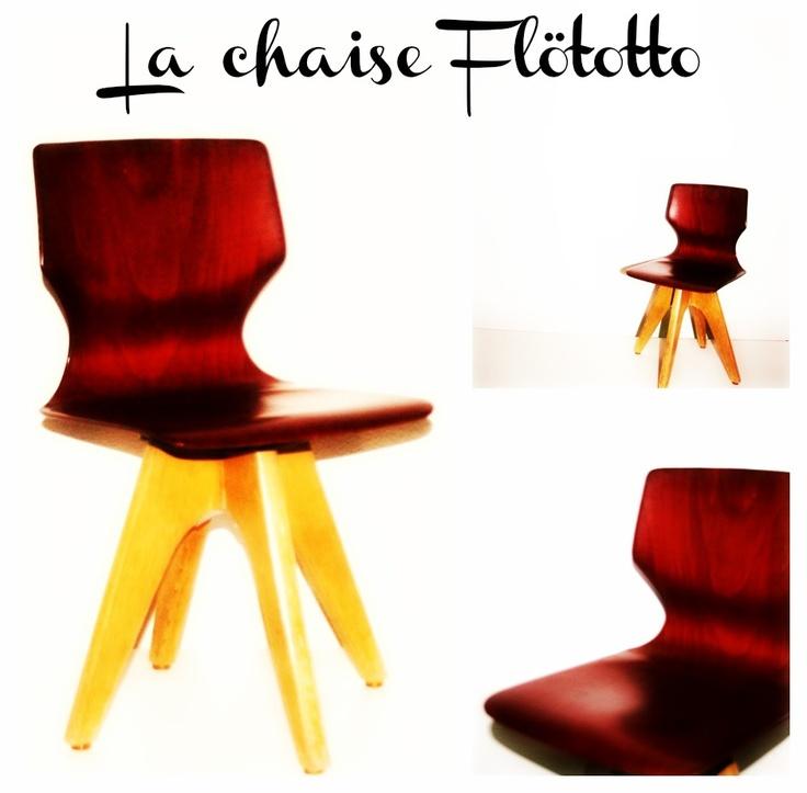 La chaise enfant Flötotto - 1960