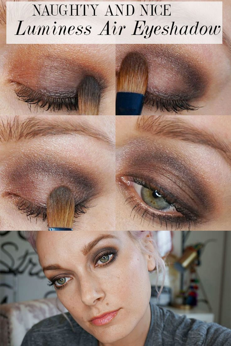 Day To Night Eye Makeup With Luminess Air Makeup Eye