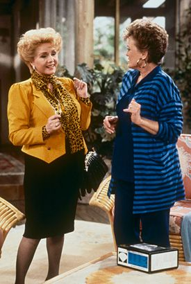 Debbie Reynolds on The Golden Girls, 1991